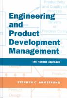 Engineering and Product Development Management PDF