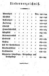 Gottesdienstliche Gesänge: Ein Anhang zu der in der evangelischen Gemein zu Münster gebräuchlichen Sammlung geistlicher Lieder