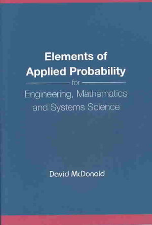 Elements of Applied Probability PDF