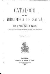 Catálogo de la biblioteca de Salvá: (900 p.)