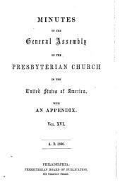 Minutes - United Presbyterian Church in the U.S.A.: Volume 16