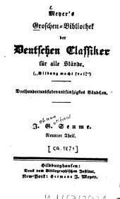 Johann Goffried Seume: Volume 9