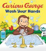 Curious George Wash Your Hands (Cgtv Board Book)