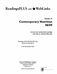 Issues in Contemporary Nutrition 98 99