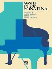 Masters of the Sonatina, Book 2: Piano Sheet Music