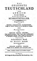Das gelehrte Teutschland oder Lexikon der jetzt lebenden teutschen Schriftsteller PDF