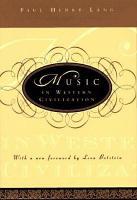 Music in Western Civilization PDF