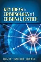 Key Ideas in Criminology and Criminal Justice PDF