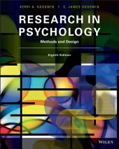 Research in Psychology: Methods and Design, Edition 8