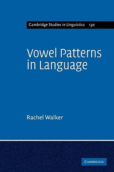 Vowel Patterns in Language PDF