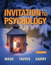 Invitation to Psychology: Edition 6