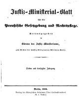 Deutsche justiz: rechtspflege und rechtspolitik ... Amtliches blatt der deutschen rechtspflege, Band 37