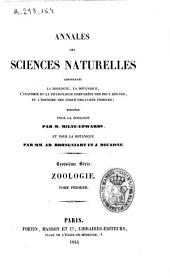 Annales des sciences naturelles: Zoologie, Volume1