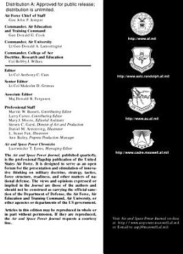 Air   Space Power Journal spr 03 PDF