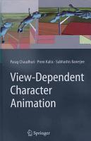 View Dependent Character Animation PDF