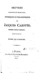 Oeuvres badines et morales, historiques et philosophiques: Volume4