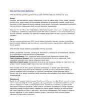 Web Servislerindeki Zaafiyetler: Web Servislerinde Bulunan Zaafiyetlerin İncelemesi