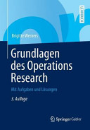 Grundlagen des Operations Research PDF