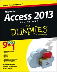 Access 2013 All In One For Dummies Book PDF