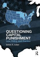 Questioning Capital Punishment PDF