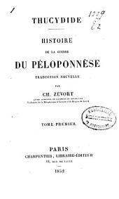 Histoire de la guerre du Péloponnèse: Volume1