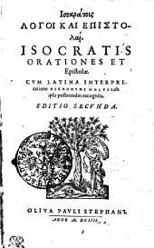 Isocratis Orationes Et Epistolae