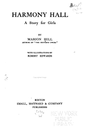 Harmony Hall: A Story for Girls