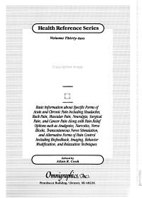 Pain Sourcebook PDF