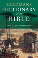 Eerdmans Dictionary of the Bible PDF