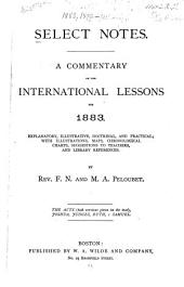 Select Notes: A Commentary on the International Lessons, Volume 9