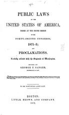 Public Laws of the United States of America  Passed at the Second Session of the Forty second Congress  1871 2 PDF