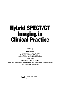 Hybrid SPECT CT Imaging in Clinical Practice PDF