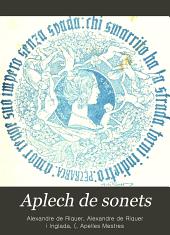Aplech de sonets: les cullites, un poema d'amor