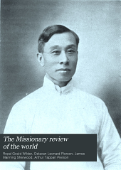 The Missionary Review of the World: Volume 38