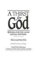 A thirst for God : reflections on the forty-second and forty-third Psalms