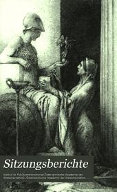 Bruchstücke einer antiken Schrift über Wetterzeichen: Band 142,Ausgabe 1