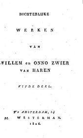 Dichterlijke werken: Volume 5
