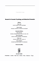 Journal of Economic Psychology PDF