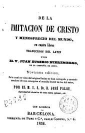 De la Imitación de Cristo y menosprecio del mundo en cuatro libros
