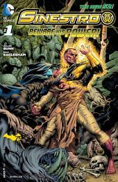 Sinestro (2014- ) #1