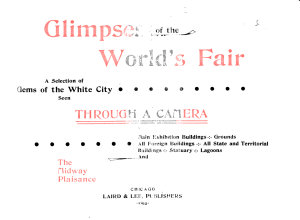 Glimpses of the World s Fair PDF