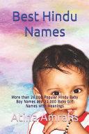 Best Hindu Names PDF