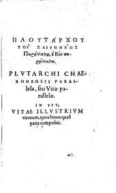 Plutarchi vitarum parallelarum: 4-6