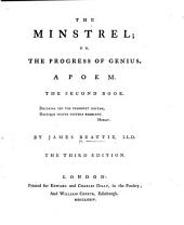 The Minstrel ... The Second Book ... The Third Edition