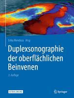 Duplexsonographie der oberfl  chlichen Beinvenen PDF