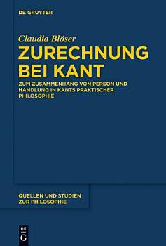 Zurechnung bei Kant PDF