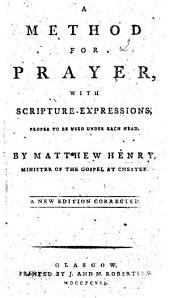 A Method for Prayer ... Seventh edition