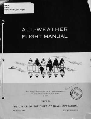 All weather Flight Manual