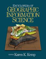 Encyclopedia of Geographic Information Science PDF