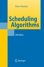 Scheduling Algorithms: Edition 5